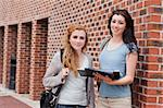 Students standing up outside a building Stock Photo - Royalty-Free, Artist: 4774344sean                   , Code: 400-05670698