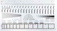 Desktop publishing measure ruler Stock Photo - Royalty-Freenull, Code: 400-05671379