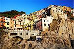 Manarola village, Cinque Terre, Italy, Europe Stock Photo - Royalty-Free, Artist: rechitansorin                 , Code: 400-05672067