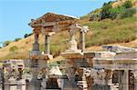 Ruins of an antique building in an antique city the Ephesus Stock Photo - Royalty-Free, Artist: korvin79                      , Code: 400-05672160