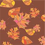 abstract autumn background vector illustration Stock Photo - Royalty-Free, Artist: SelenaMay                     , Code: 400-05673241