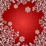 artistic christmas card vector illustration Stock Photo - Royalty-Free, Artist: SelenaMay                     , Code: 400-05673346