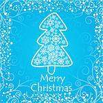 artistic christmas card vector illustration Stock Photo - Royalty-Free, Artist: SelenaMay                     , Code: 400-05673352