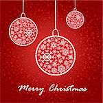 artistic christmas card vector illustration Stock Photo - Royalty-Free, Artist: SelenaMay                     , Code: 400-05673355