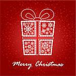 artistic christmas card vector illustration Stock Photo - Royalty-Free, Artist: SelenaMay                     , Code: 400-05673359
