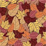 abstract autumn background vector illustration Stock Photo - Royalty-Free, Artist: SelenaMay                     , Code: 400-05673377