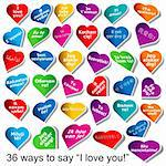 36 ways to say