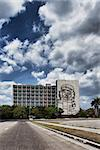 Facade with Che Guevara relief near Revolution Square in Havana Stock Photo - Royalty-Free, Artist: Andersen66                    , Code: 400-05675939