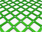 3d cube green square background abstract white Stock Photo - Royalty-Free, Artist: dak                           , Code: 400-05676756