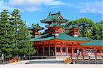 The historic Heian Shrine in Kyoto, Japan. Stock Photo - Royalty-Free, Artist: sepavo                        , Code: 400-05677160