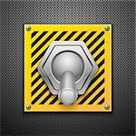Realistic vector switch. Eps10 Stock Photo - Royalty-Free, Artist: Diddle                        , Code: 400-05678868