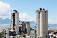 pipework - Cement Plant,Concrete or cement factory, heavy industry or construction industry. Stock Photo - Royalty-Freenull, Code: 400-05679069