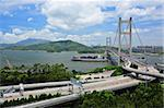 Tsing Ma Bridge Stock Photo - Royalty-Free, Artist: leungchopan                   , Code: 400-05679489