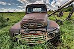 Vintage Farm Trucks Saskatchewan Canada weathered and old Stock Photo - Royalty-Free, Artist: pictureguy                    , Code: 400-05679757