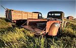 Vintage Farm Trucks Saskatchewan Canada weathered and old Stock Photo - Royalty-Free, Artist: pictureguy                    , Code: 400-05679782