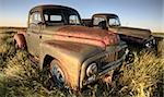Vintage Farm Trucks Saskatchewan Canada weathered and old Stock Photo - Royalty-Free, Artist: pictureguy                    , Code: 400-05679785