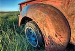 Vintage Farm Trucks Saskatchewan Canada weathered and old Stock Photo - Royalty-Free, Artist: pictureguy                    , Code: 400-05679798