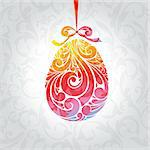 abstract cute vector illustration background with egg Stock Photo - Royalty-Free, Artist: SelenaMay                     , Code: 400-05680353
