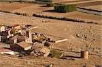 The small medieval village of Gormaz, Spain Stock Photo - Royalty-Free, Artist: hemeroskopion                 , Code: 400-05680767