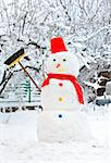 snowman Stock Photo - Royalty-Free, Artist: jordache                      , Code: 400-05681151