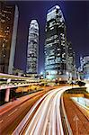 modern city at night Stock Photo - Royalty-Free, Artist: leungchopan                   , Code: 400-05684609