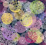 Abstract cute seamless polka dot circle background pattern. Stock Photo - Royalty-Free, Artist: lapesnape                     , Code: 400-05685171