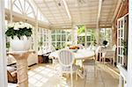 Interior Of Modern Conservatory Stock Photo - Royalty-Free, Artist: MonkeyBusinessImages          , Code: 400-05686459