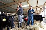 Farmer Having Discussion With Vet Stock Photo - Royalty-Free, Artist: MonkeyBusinessImages          , Code: 400-05686820