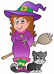 Halloween character image 1 - vector illustration. Stock Photo - Royalty-Free, Artist: clairev                       , Code: 400-05686871