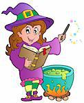 Halloween character image 2 - vector illustration. Stock Photo - Royalty-Free, Artist: clairev                       , Code: 400-05686872