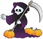 Halloween character image 3 - vector illustration. Stock Photo - Royalty-Free, Artist: clairev                       , Code: 400-05686873