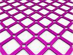 3d cube purple square background abstract white Stock Photo - Royalty-Free, Artist: dak                           , Code: 400-05688205