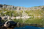 Scenic  high altitude Laguna Negra, Soria, Spain Stock Photo - Royalty-Free, Artist: hemeroskopion                 , Code: 400-05689421