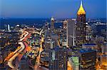 SKyline of Atlanta, Georgia Stock Photo - Royalty-Free, Artist: sepavo                        , Code: 400-05690200