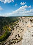 Scenic river canyon in  Soria, central Spain Stock Photo - Royalty-Free, Artist: hemeroskopion                 , Code: 400-05690521