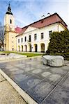 town hall with museum, Brezno, Slovakia Stock Photo - Royalty-Free, Artist: phbcz                         , Code: 400-05690626