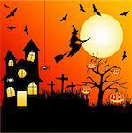 halloween Stock Photo - Royalty-Free, Artist: lemony                        , Code: 400-05692672