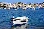 Old boat at Cadaques (Costa Brava, Catalonia, Spain) Stock Photo - Royalty-Free, Artist: Marlee                        , Code: 400-05693100