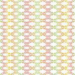 Abstract background of colorful seamless leaves pattern