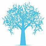 Beautiful art tree isolated on white background Stock Photo - Royalty-Free, Artist: inbj                          , Code: 400-05693962