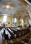 interior of church, Orlicke Zahori, Czech Republic Stock Photo - Royalty-Free, Artist: phbcz                         , Code: 400-05696444