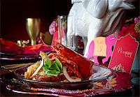 Beautiful image of a gourmet lobster dinner Stock Photo - Royalty-Freenull, Code: 400-05697300