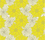seamless yellow background of beautiful flowers of two shades Stock Photo - Royalty-Free, Artist: Oksvik                        , Code: 400-05698813