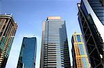 office buildings in dubai Stock Photo - Royalty-Free, Artist: radodn                        , Code: 400-05699495