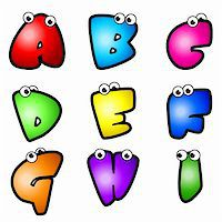 fancy letters - A set of cartoon font type, letter A to I Stock Photo - Royalty-Freenull, Code: 400-05700736