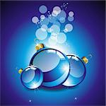 elegant christmas background with balls Stock Photo - Royalty-Free, Artist: 25081972                      , Code: 400-05704443
