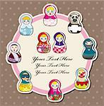doll card  Stock Photo - Royalty-Free, Artist: notkoo2008                    , Code: 400-05704535