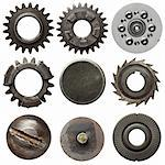 Cogwheels and other metal details Stock Photo - Royalty-Free, Artist: donatas1205                   , Code: 400-05705780