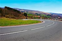 road landscape - Winding Mountain Road in the Spanish Pyrenees Stock Photo - Royalty-Freenull, Code: 400-05706768