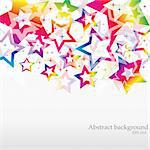 VECTOR Abstract Rainbow Background for Business Brochure or Cover , eps 10.0 Stock Photo - Royalty-Free, Artist: MarketOlya                    , Code: 400-05707200